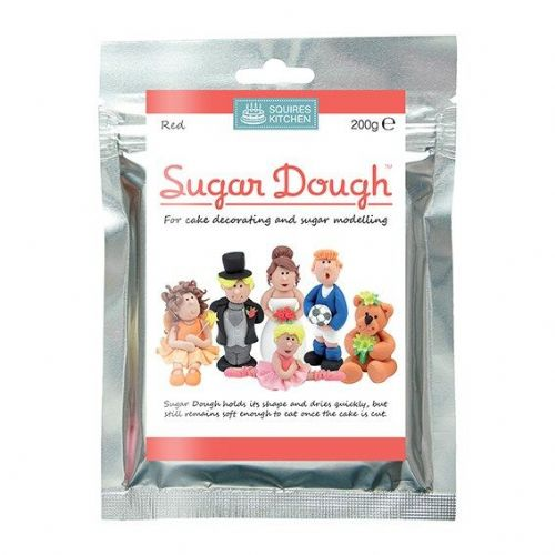 Squires Kitchen - Red Sugar Dough - 200g